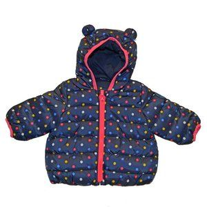 Baby Gap Polka Dot ColdControl Warmest Puffer